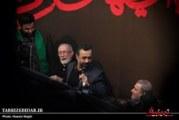گزارش تصویری/در هوای فاطمیه… حضور محمود کریمی و میرداماد در هیئت انصارالحسین تبریز