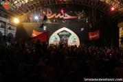 گزارش تصویری مراسم شهادت امام صادق(ع) با مداحی حاج حسین سیب سرخی در مراغه