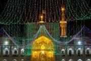 گزارش تصویری از حرم امام رضا (ع) در شب نیمه شعبان