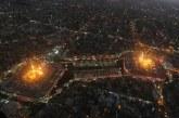 گزارش تصویری از بین الحرمین در تاسوعای حسینی