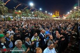 گزارش تصویری نماز صبح در بین الحرمین